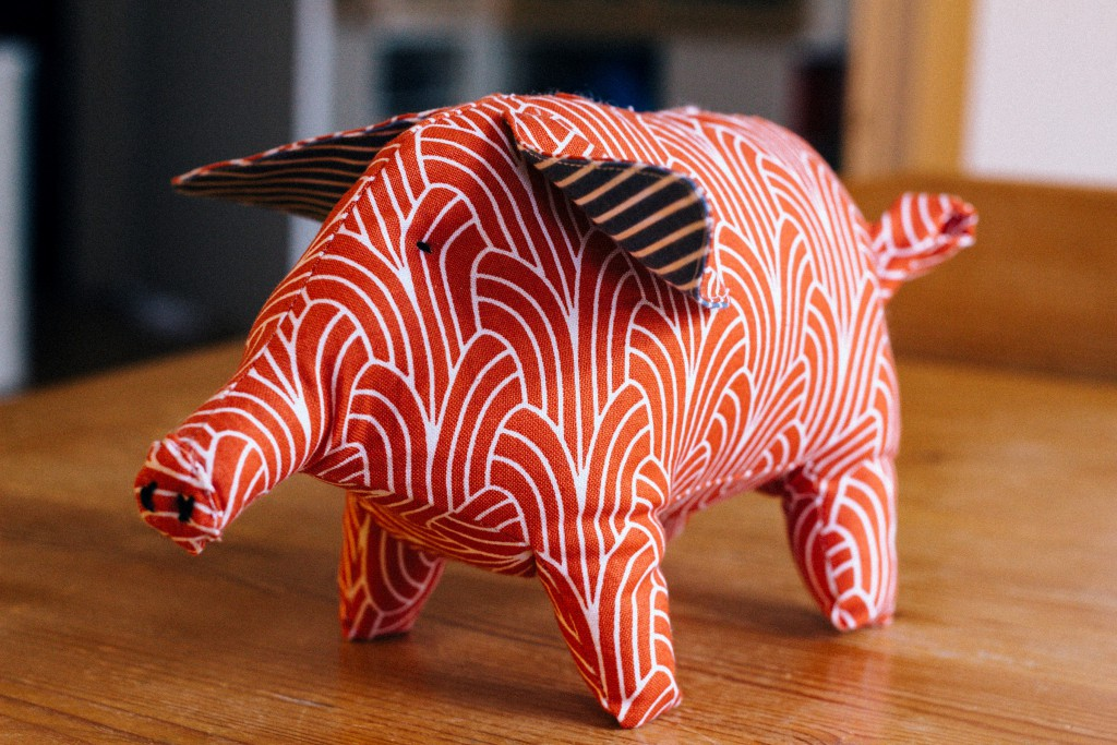 Stoffschwein