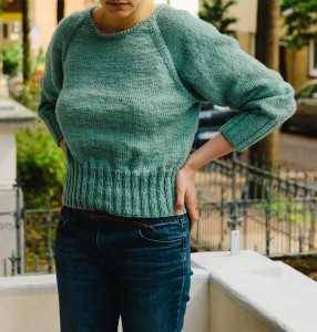 Pullover mit tiefen Raglanärmeln (4)